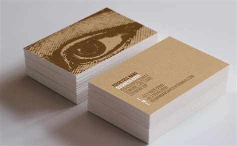 vision business card template inspiration cardfaves