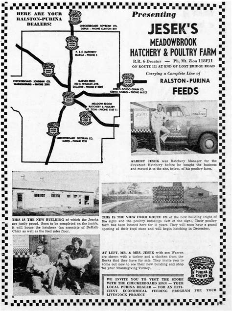 Daily Review Newspaper Archives Oct 7 1955 with community roots jesek still going strong