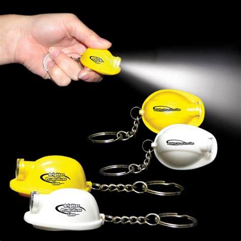 Gantungan Kunci Helmet Keychain Helmet safety helmet led light up flashlight keychain