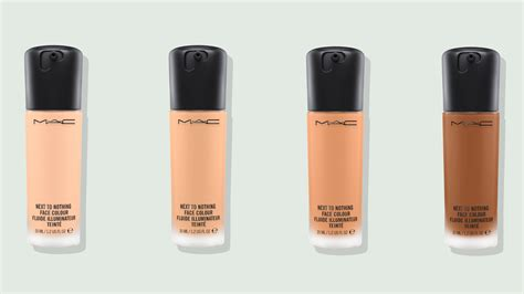 Mac Foundation the m a c next to nothing colour is like a filter