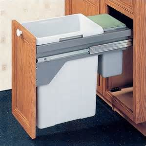 kitchen cabinet garbage drawer drawer slide out waste bin 48 5 liter modern