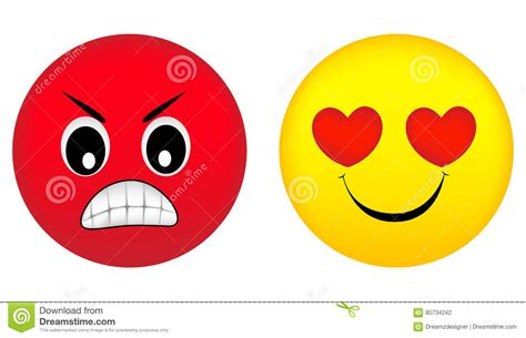images of love emotions angry and love emotions stock illustration image 85734242