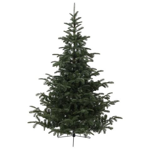 everlands nordmann fir p e artificial christmas tree 6ft