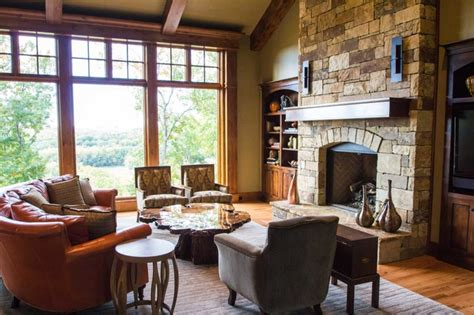 living room kansas city prairie style in reserve