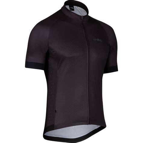 black jersey wiggle dhb asv warmer short sleeve jersey black