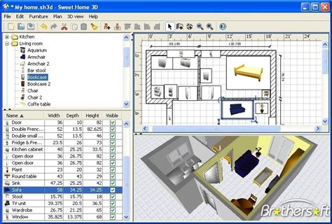 java 3d home design sweet home 3d update updater brothersoft com
