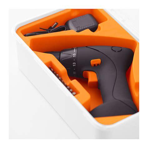 ikea screwdriver fixa screwdriver drill li ion 7 2 v ikea