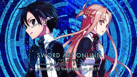 film anime terbaru 2017 berita video trailer anime terbaru sword art online