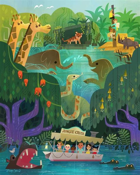 17 best images about disney adventureland on 17 best images about illustrator joey chou on