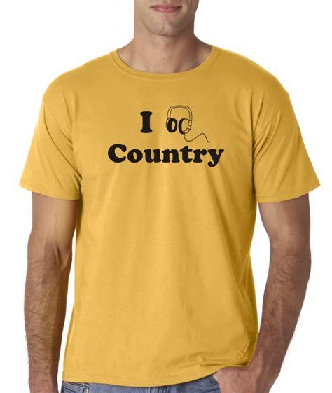 Country Relationship Shirts Mens I Listen Country T Shirt Headphones Ebay