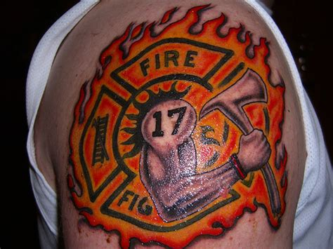 fire ems tattoo designs firefighter armband tattoos