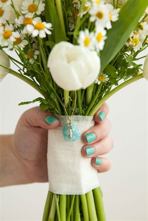 learn how to make bridal bouquet charms