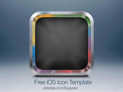 ios icon template psd free ios icon template 2 psd by taras shypka dribbble