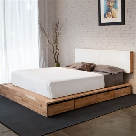 storage platform bed storage platform bed fancy deco