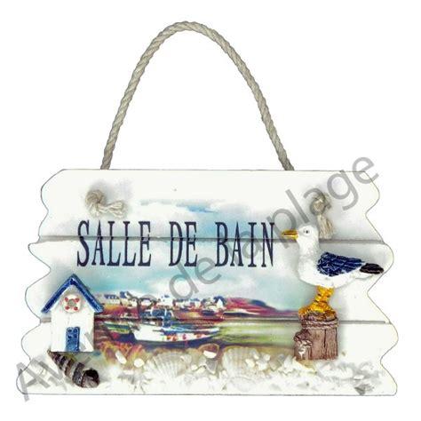 Plaque Salle De Bain by Plaque De Porte Paysage Marin Toilettes Salle De Bain