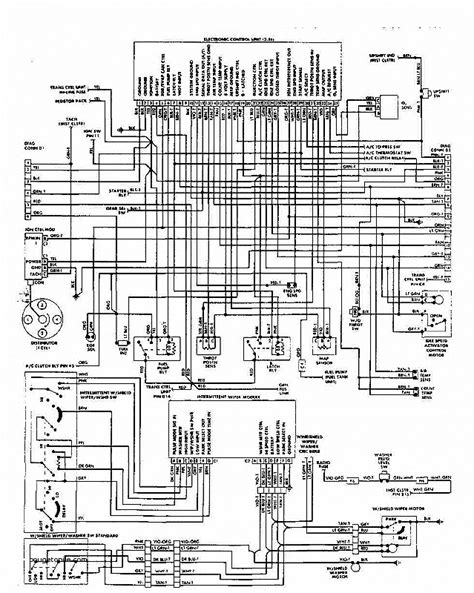 1988 jeep alternator diagram wiring diagram with description