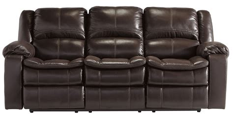 long recliner long knight brown reclining sofa from ashley 8890588