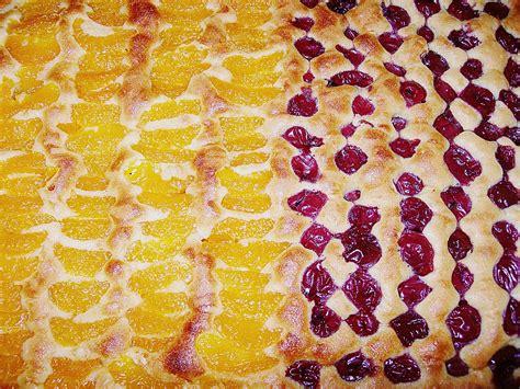 kuchen auf blech mandarinen kuchen auf dem blech rezept mit bild