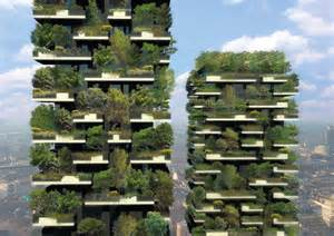Sustainable Apartment Design Complete Facade Greening High Rise Apartment Building In