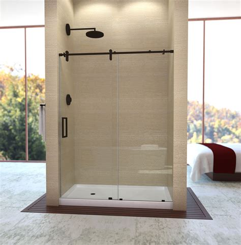 Alumax Frameless Shower Doors Proline Sliders Alumax Bath Enclosures