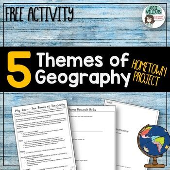 5 themes of geography canada five themes of geography project about your town free