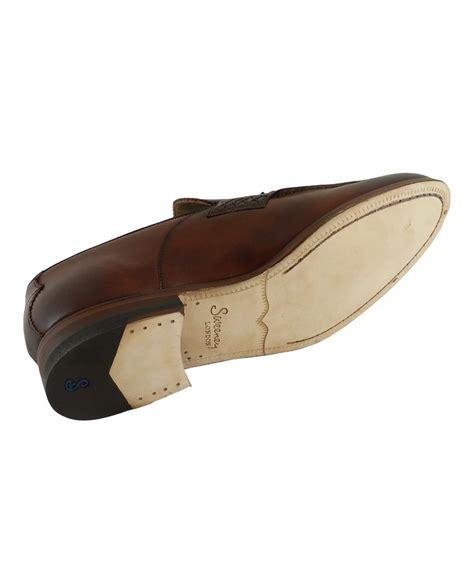 leather tassel loafer belton chestnut leather tassel loafer