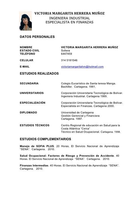 Modelo Curriculum Vitae Estudiante Universitario Formato Curriculum Estudiante Universitario Jos 233 Palacios Far 237 As Carta De Presentaci