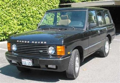 land rover range rover 1986 1996 service repair manual download