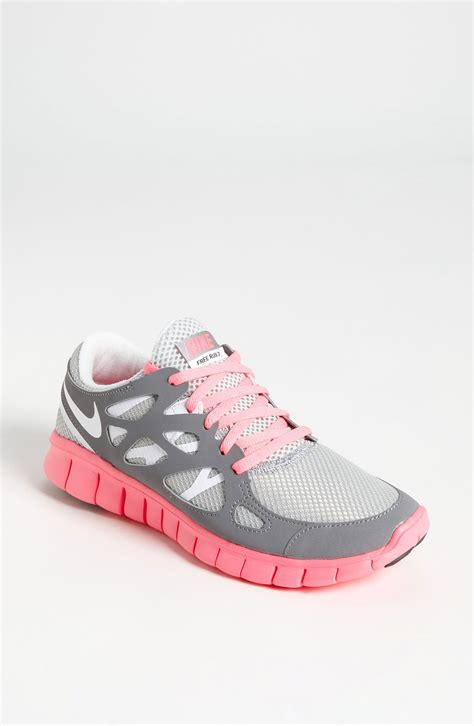 free run shoe nike free run 2 ext running shoe in metallic lyst