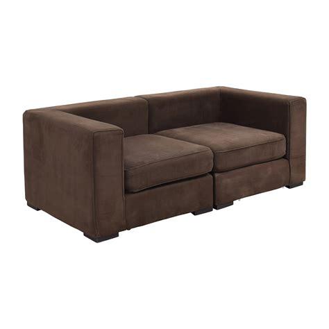 elm sofa 59 elm elm brown modular sofa sofas
