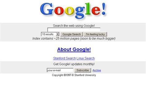 www google commed the google homepage faq