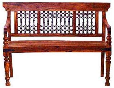sheesham wood bench sheesham wood bench in jodhpur rajasthan india classic silvocrafts