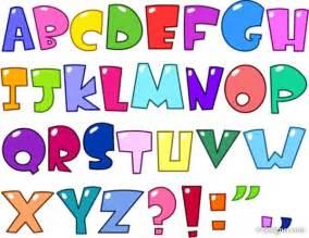 4 designer vector cartoon letters design series 03