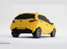 Sean Kenney - Art with LEGO bricks : Mazda2 X 2