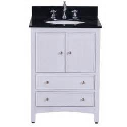 24 inch white bathroom vanity project rehab
