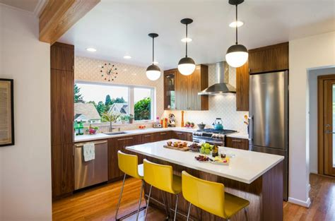 mid century modern kitchen cabinets mid century modern small kitchen design ideas you ll want