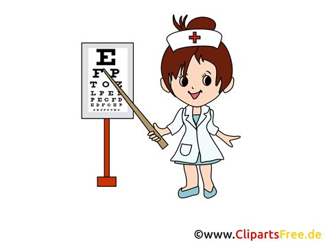 clipart infermiere augenarzt bild clipart
