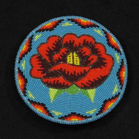 beadwork rose beaded belt buckle beadwork