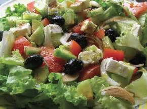 salad recipe greek salad recipe dishmaps