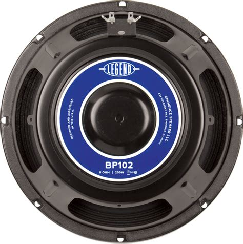 Speaker Eminence Speaker Eminence 174 Bass 10 Quot Legend Bp102 200 Watts Antique Electronic Supply