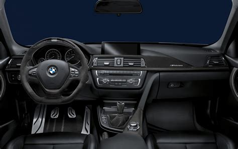 Bmw Interior Parts by Bmw Announces New M Performance Parts For 3 5 Series