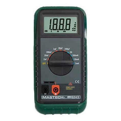 inductance meter digital c l meter mastech my6243 digital c l inductance meter for condensers