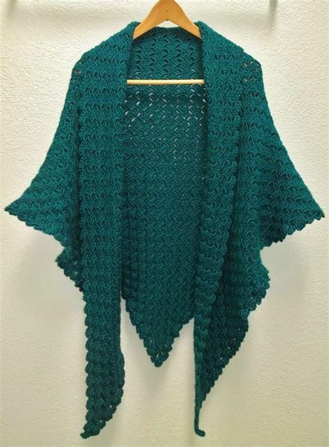 pattern triangle shawl non sense corner to corner triangle shawl crochet