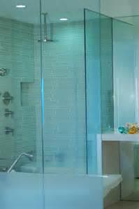 Island stone linear glass bathroom 2 modern tile other metro