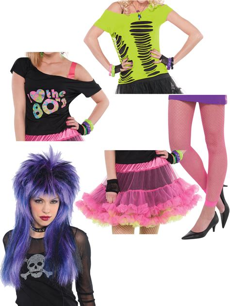 80s Accessories by 80s Costume Accessories Adults Disco Neon Fancy