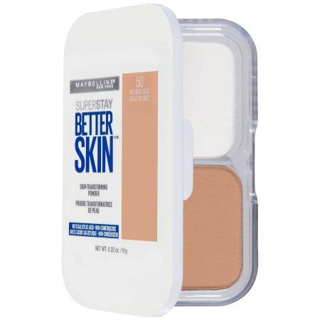 Maybelline Pressed Powder maybelline superstay better skin skin transforming powder