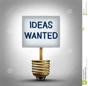 ideas for ideas wanted stock illustration image 45051630