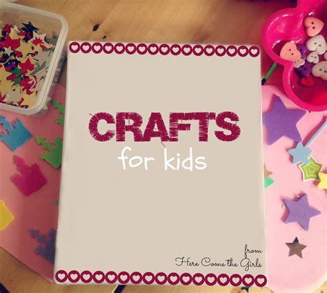 crafts for kid crafts for here come the