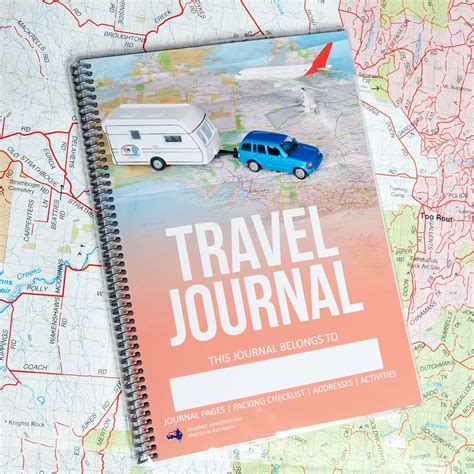 design journal cover travel journal 2016 cover design caravanning with kids
