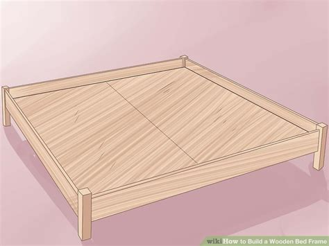 How To Make Wooden Bed Frame 3 Ways To Build A Wooden Bed Frame Wikihow